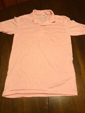 Adult Small Stedman Pink Polo Two Button Size 34-36