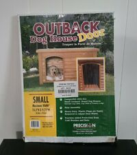New listing Precision Pet Outback Dog House Door Plastic Flaps Small