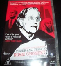 Power And Terror Noam Chomsky In Our Times (Australia Region 4) DVD – New