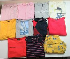 Lot Of 11 Fashion Clothes Ralph Lauren Nautica Tommy Hilfiger Chaps Shirts More