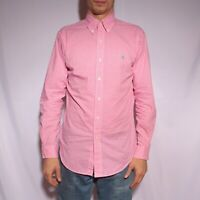 Vintage Polo by Ralph Lauren Button down Shirt Check size S Cotton Pink