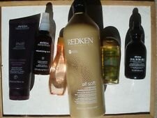 selection of hair care products, aveda, davines, redken,ogx and schwarzkopf
