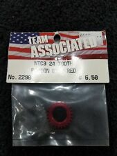 Team Associated ASC2298  24T Pinion Gear RED  NTC3