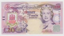 More details for gibraltar 20 pounds dated 1995 p27a uncirculated unc