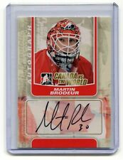 2011-12 ITG Canada vs The World Autographs #AMBR Martin Brodeur SP
