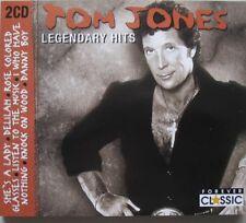 TOM JONES - LEGENDARY HITS  - 2 CD