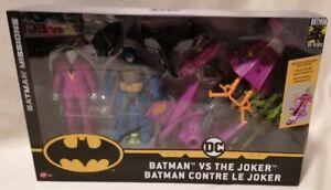 BATMAN - *MIB* Batman Vs Joker DC Batman Missions 80th Anniversary 2 Pack Set