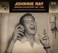 JOHNNY RAY - SINGLES COLLECTION  4 CD NEW!