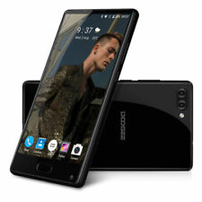 DOOGEE MIX 64GB+4GB 5.5'' Fingerprint Helio P25 4G Móvil Smartphone GPS Negro ES