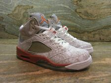 c4ea5b47d1a 2006 Nike Air Jordan 5 Retro RA SZ 9 White Army Olive Laser Orange 315749-