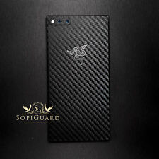 SopiGuard Carbon Fiber Vinyl Skin Full Body Wrap for Razer Phone