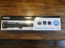Vivitar Series 1 650-1,300mm F/8.0-16.0 Lens For Universal