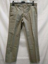 pantalone uomo Burberry cotone elasticizzato taglia 50