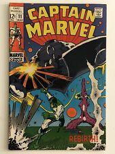 CAPTAIN MARVEL #11  SILVER AGE MARVEL COMIC CAROL DANVERS SMITH & TRIMPE COVER