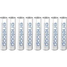 Pile rechargeable LR3 (AAA) Panasonic eneloop HR03 BK-4MCCE/8BE NiMH 750 mAh