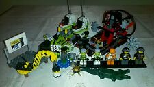 Lego World Racers 8899 Gator Swamp 100%Complete+Instructions