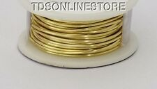 20GA Beadsmith Champagne Gold Color Non Tarnish  Wire 6 Yards