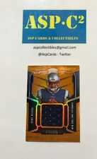 2018 Panini Certified Sony Michel Relic Rookie Card Patch Orange 375/399
