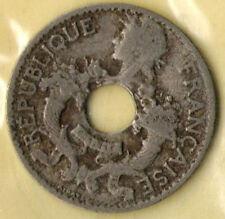 1924 5 Cent Coin Republique Francaise Indochine