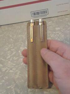 Set of  Vintage 14k Tip Sheaffer's  White dot Fountain Pen & Mechanical Pencil
