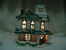 Department 56 Gabled House Snowhouse Series 1982 Village W/Light Cord Retired