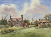 John A. Case - 20th Century Watercolour, English Cottages