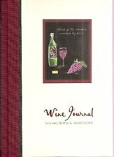 B0055E1MM6 Wine Journal Tasting Notes and Impressions - With Wine Lable Remover