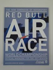 2017 Season Red Bull Air Race World Championship Season Magazine Program Indy