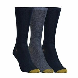 Women's Non-Binding Flat Knit Crew, New Navy/Denim/New Navy, Size  eTZl