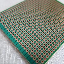5x Stripboard 6.3x7.5cm Prototype paper uncut hole circuit Board Breadboard vero