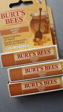 3x Burts Bees Lip Balm.. Honey.