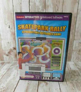Lakeshore iLakeshore Interactive Whiteboard Software PC Skatepark Rally Game