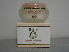 Whitening Night Cream 50g by Belle Cosmetics with AHAs, Vit C & E and Collagen