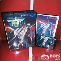 Slap Fight Game Cartridge SEGA Mega Drive Japan Japanese Boxed + Manual Genesis
