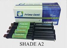 Prime-Dent Dual-Cure Automix Dental Luting Cement 4 Syringe Kit #100-100
