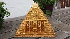 Dekofigur, Pyramide Schmuckschatulle Aufbewahrung ägyptische Figur Deko Ägypten