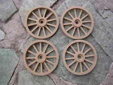 WAGON & CANNON WHEELS - 2  Inch Diameter MDF scale toy school projects diorama