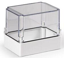 Electrical Enclosure NEMA 4X Polycarbonate 7x5x6 Waterproof Project Box Clear