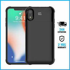 iPhone X/XS / XS Max/ XR 5000/5500mAh Power Case Cas Charger Bank Battery Cover