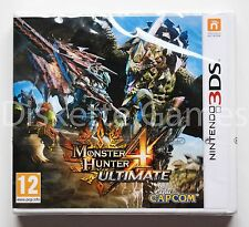 MONSTER HUNTER 4 ULTIMATE - NINTENDO 3DS - PAL ESPAÑA - NUEVO PRECINTADO