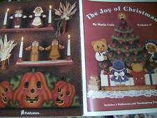 Joy Of Christmas Painting Book V (5) Teddy Bears, Children Wreath, Village