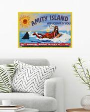 Jaws Movie Amity Island 50th Annual Regatta July 4th - 10th Poster (No Framed)