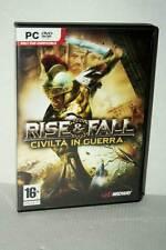 RISE & FALL CIVILTA' IN GUERRA USATO BUONO PC DVD VERSIONE ITALIANA RS2 51590