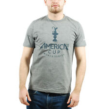 Men's PUMA -America's Cup Merch Tee T-Shirt Grey size M (T42) $25