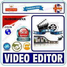 Professionelle Videobearbeitung Studio PC/Mac Program pro Film Cut MP4 AVI auf DVD