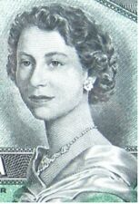 CANADA $1 DOLLAR 1954 DEVIL'S FACE QUEEN HAIRDO 42# BANKNOTE CURRENCY MONEY