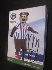 48881 Hertinho Hertha BSC 2009-2010 original signierte Autogrammkarte