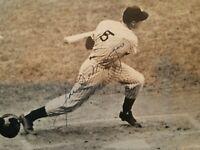 Joe DiMaggio Signed 6.5x8.5 Newspaper Photo + DiMaggio Grotto Restaurant Menu