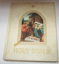 HOLY BIBLE (CATHOLIC) WITH THE CONFRATERNITY TEXT (1965