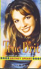 BRITNEY SPEARS  True Brit  paperback book
